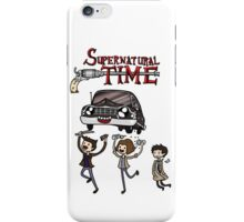 Supernatural Time iPhone Case/Skin