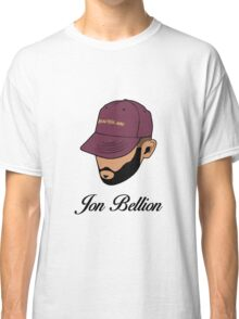 Jon Bellion face beautiful mind with text Classic T-Shirt