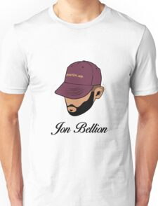 Jon Bellion face beautiful mind with text Unisex T-Shirt