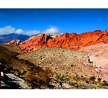 Red Rock Canyon Nevada Photographic Print