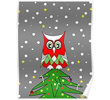 Tree Top Owl Poster