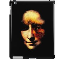 monalisa with eyes that watch the world and can't forget iPad Case/Skin
