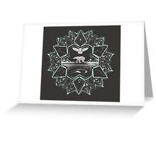 Northern Star Greeting Card