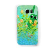 green bunny Samsung Galaxy Case/Skin