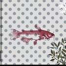 Fish in polka dots by Lenoirrr