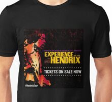 Hendrix Experience Tour 2017 The Consert Event of The Year Unisex T-Shirt