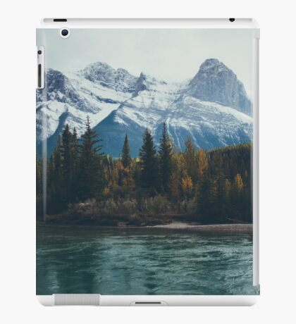 mountain river iPad Case/Skin