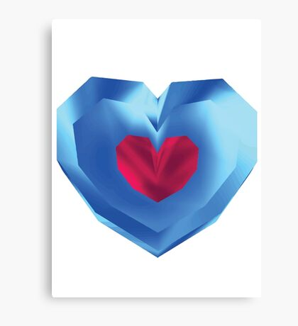 OOT Piece of Heart Canvas Print