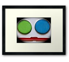 FACE PAINTING! Framed Print