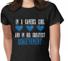 Achievement Unlocked Womens Fitted T-Shirt