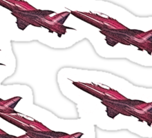 Red Arrows -Tees and Hoodies Sticker