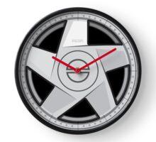 Wheel Design Volvo Hydra Clock