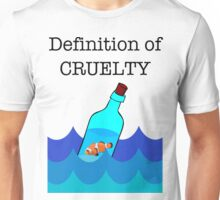 The Definition of Cruelty. Unisex T-Shirt