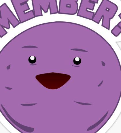 Member Berry Sticker