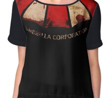 Umbrella Corp Chiffon Top