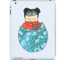 Sleeping Girl iPad Case/Skin