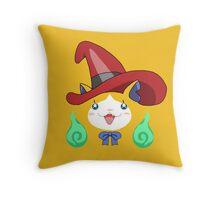 Mage Cat Throw Pillow