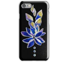 Blue and Purple Lotus Flower iPhone Case/Skin