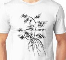 Leaves and Roots  Unisex T-Shirt