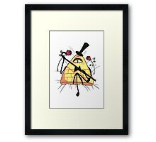 Not That Gentle... Framed Print