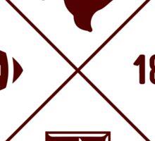Texas A&M - Style 12 Sticker