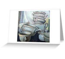 Porcelain1 Greeting Card