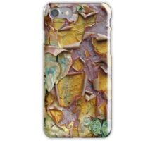 Paper Bark Abstract 2 iPhone Case/Skin