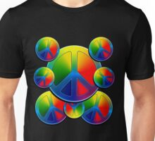 Multi Peace - WhatIf Design and More Unisex T-Shirt