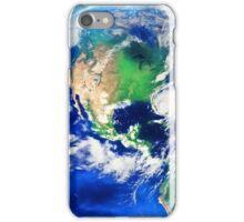 Planet Earth American World Globe iPhone Case/Skin