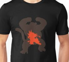 Kid Goku and Great Ape (Dragon Ball) Unisex T-Shirt