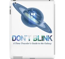 Doctor Who / Hitchhiker's Guide to the Galaxy iPad Case/Skin