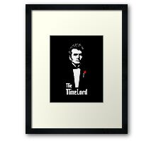 The Time Lord  Framed Print