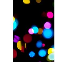 abstract  lights background Photographic Print