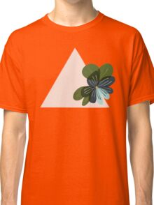 Triangle Pansy Classic T-Shirt