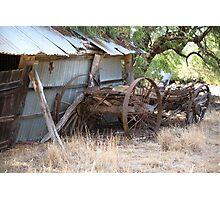 Old Wagon.... Photographic Print