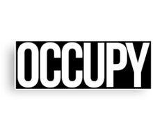 Occupy Canvas Print