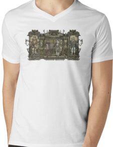 Steampunk Rock Band Mens V-Neck T-Shirt