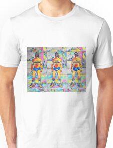 Naughty Boy Triple Threat by RD RIccoboni Unisex T-Shirt