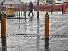 In the rain by awefaul