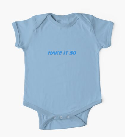 Make It So - T-Shirt One Piece - Short Sleeve