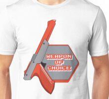 Weapon of Choice Retro Game Gun Controller  Unisex T-Shirt