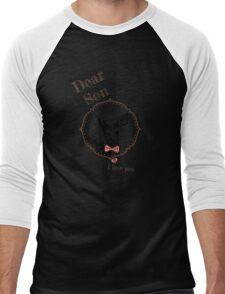 Deer Younger Son - I love my dear family Men's Baseball ¾ T-Shirt