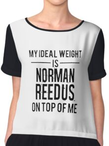 Ideal weight - Norman Reedus Chiffon Top
