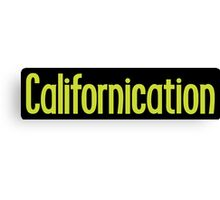 Californication Canvas Print