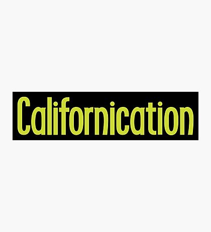 Californication Photographic Print