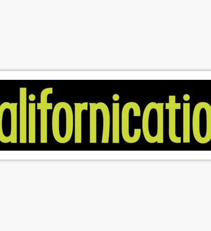 Californication Sticker