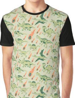 Dino Disaster Graphic T-Shirt