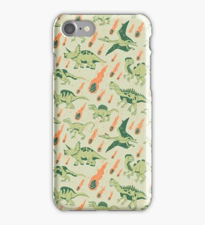 Dino Disaster iPhone Case/Skin