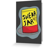 Luke Cage Swear Jar Greeting Card