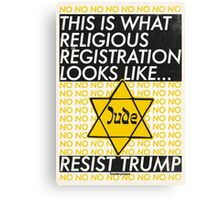 This Is What Religious Registration Looks Like Canvas Print